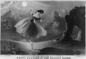 Fanny Elssler Shadow Dance La Sylphide