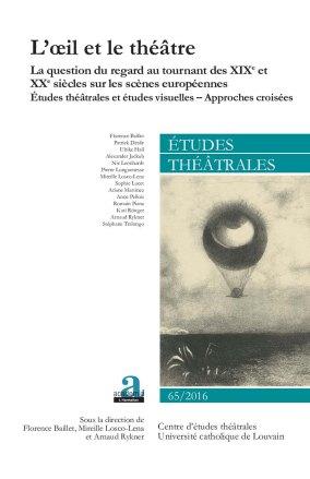 Etudes Theatrales L'Oeil et le Theatre