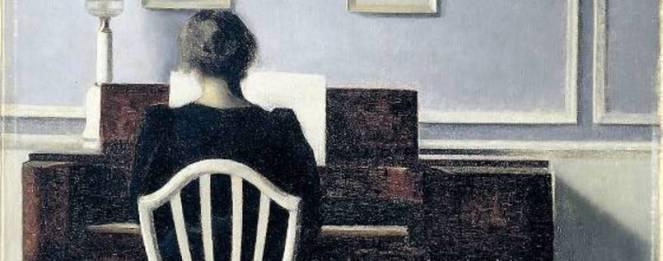 Hammershoi_1901 Frau am klavier