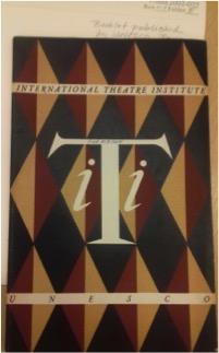 ITI Broschüre designed von Jean Picart Le Doux