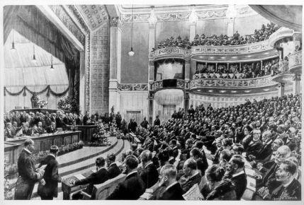 Nationalversammlung weimar 1919 theater