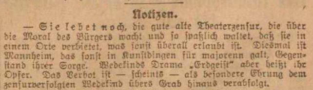 Theaterzensur lebt noch_Vorwärts 3 Juni 1918-2