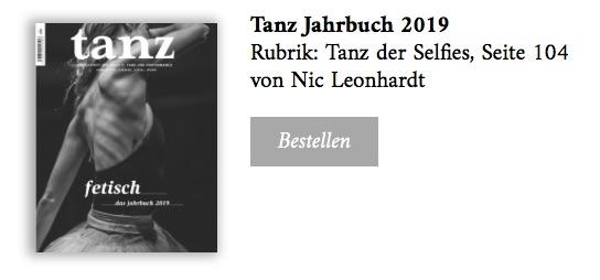 Jahrbuch Tanz 2019_bestellen